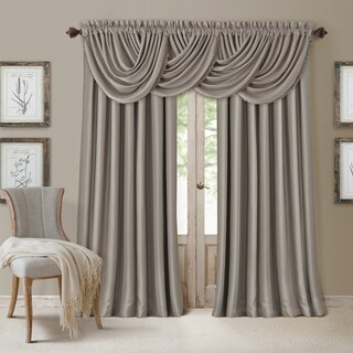 Elrene All Seasons Polyester Blend Waterfall Valance