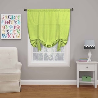 Eclipse Kendall Blackout Window Tie-up Shade - 42X63 (Lime)