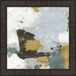 Melissa Van Hise 'Uptown Shuffle I' Grey Framed Wall Art