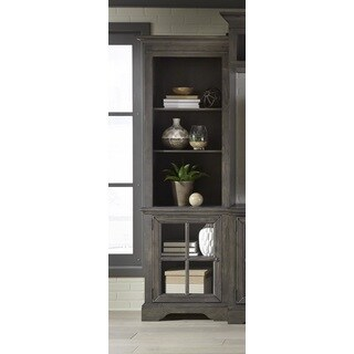 Dillworth Grey Left Side Pier Unit Entertainment Center