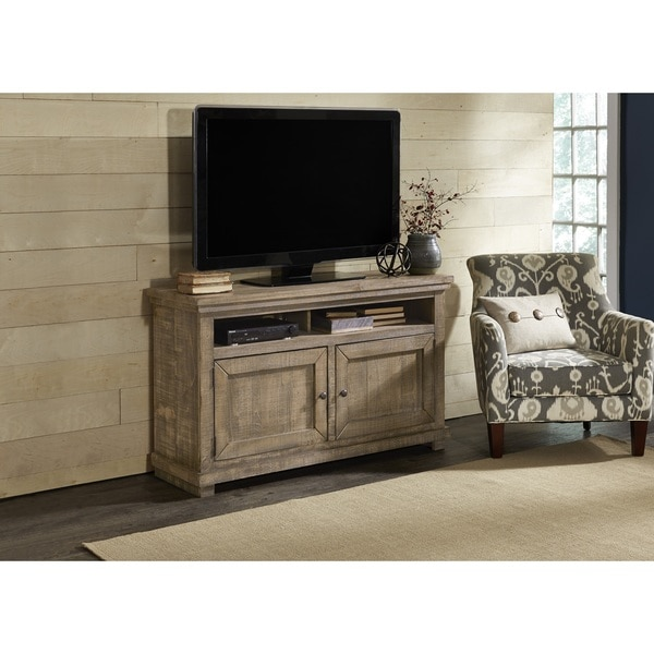Willow Distressed Grey Entertainment Center. Opens flyout.