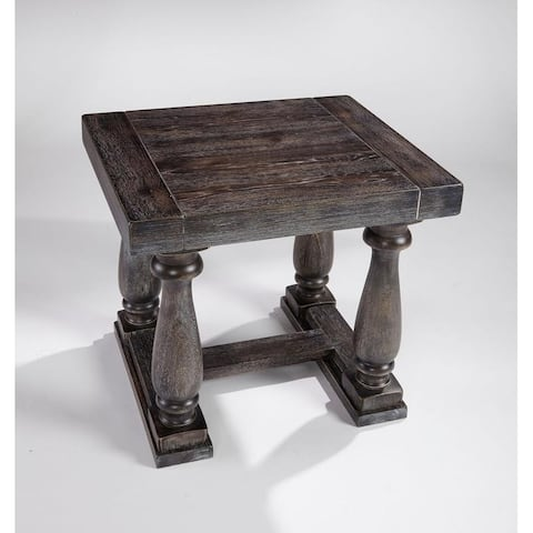 Muse Weathered Pepper End Table
