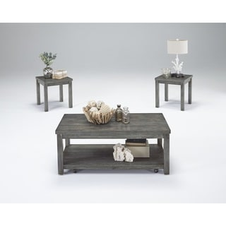Silverton II Grey Cocktail and Side Tables (Set of 3)  sc 1 st  Overstock & Shop Avenue Greene Becken Ridge Coffee Table - Free Shipping Today ...