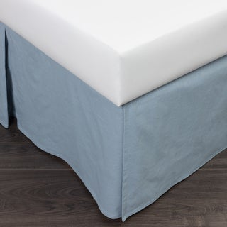 Paige Blue Bed Skirt