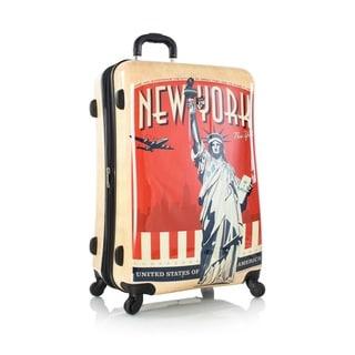 Heys Vintage Traveler 30-inch Fashion Spinner Upright Suitcase