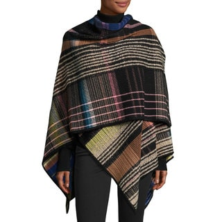 Missoni Plaid Wool Wrap Shawl