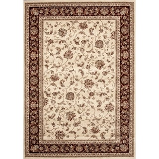 Floral Transitional Indoor Area Rug (5'3 x 7'3)