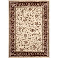 "Floral Transitional Indoor Area Rug - 5'3"" x 7'3"""