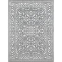 """Traditional Framed Floral Indoor Area Rug - 7'6"""" x 9'6"""""""