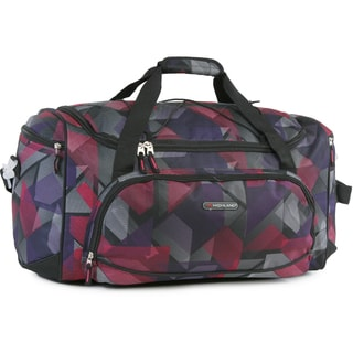 Pacific Coast Highland Abstract Medium 22-inch Travel Duffel Bag