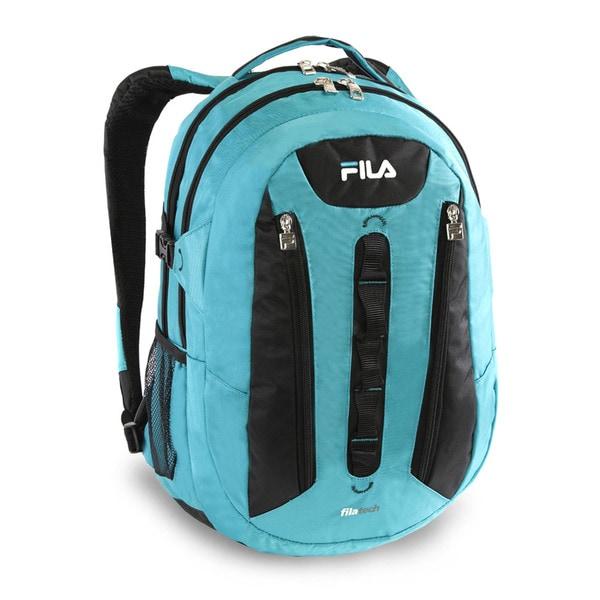 Fila Vertex Nylon Tablet and 15-inch Laptop Backpack