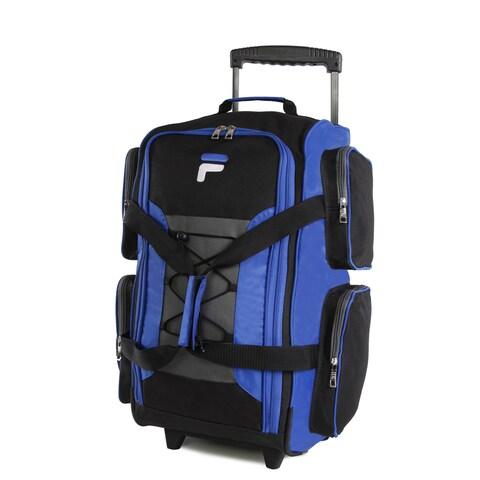 Fila 22-inch Lightweight Carry-on Rolling Duffel Bag