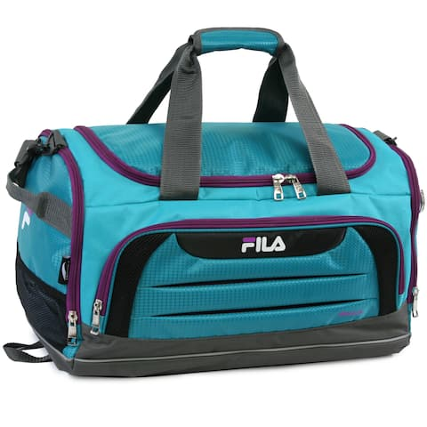 Fila Cypress Teal/Purple Small Sport Duffel Bag