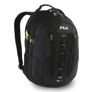 Fila Vertex Black 15-inch Laptop and Tablet Backpack