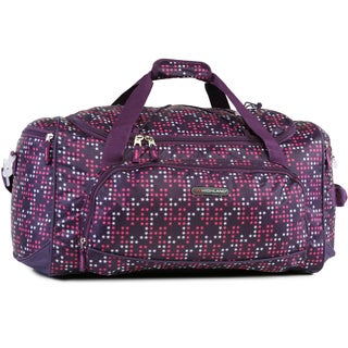 Pacific Coast Highland Twinkle Star Purple Medium 22-inch Travel Duffel Bag