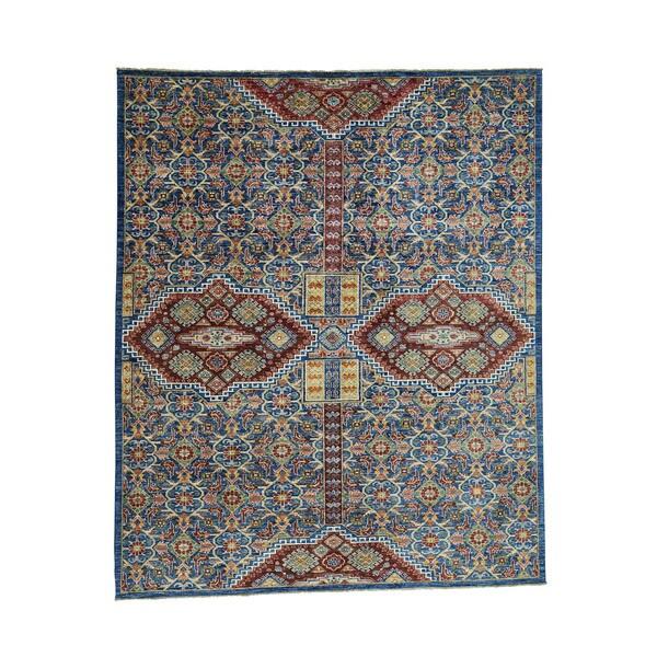 Shop Shahbanu Rugs Pure Wool Hand-Knotted Super Kazak