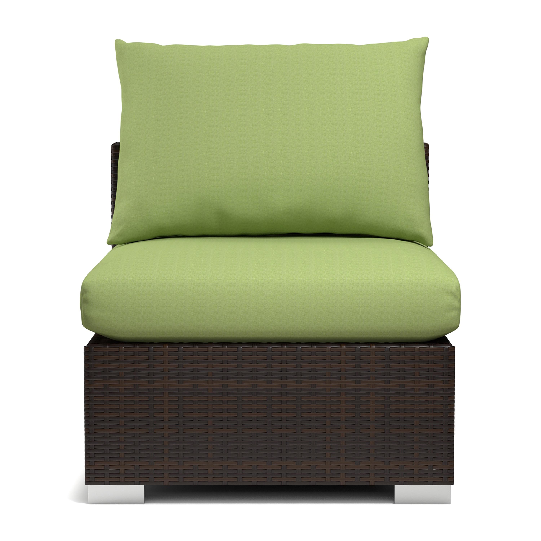 Handy Living Aldrich Indoor/ Outdoor Rattan Armless Chair...