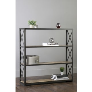 East At Main's Kepner Brown Wooden Rectangular Bookcase