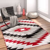 Well Woven Modern Southwestern Area Rug - 5'3 x 7'3