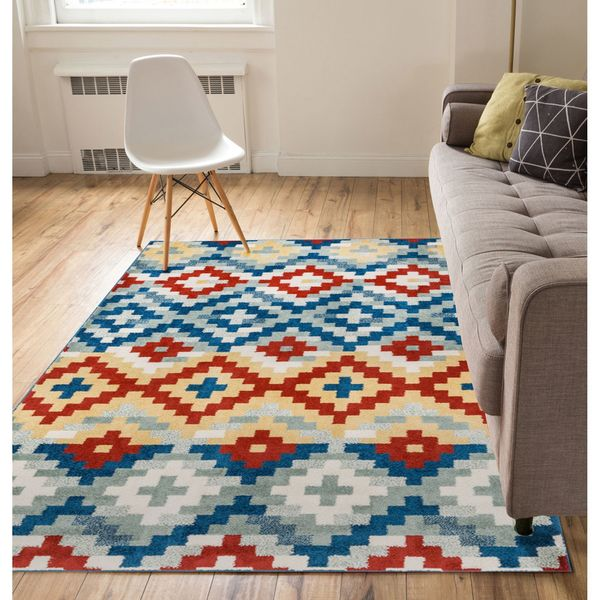 Shop Well Woven Modern Southwest Area Rug