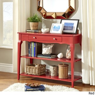 Daniella Console Table TV Stand by iNSPIRE Q Bold (Option: Red)