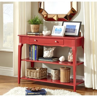 Red Console Table red, console tables living room furniture - shop the best deals