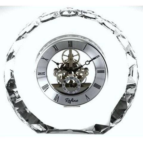 Heim Concept Crystal Round Skeleton Clock