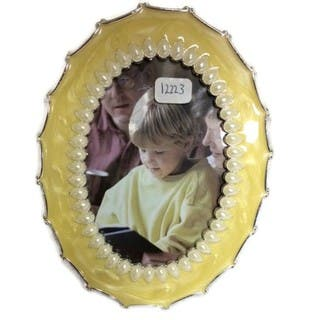"Elegance Eleanor 3 x 5"" Oval Shape Photo Frame