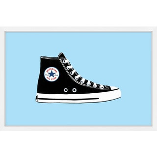 'Cool High Top' Framed Painting Print