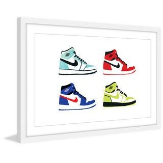 'Cool Kicks' Framed Painting Print