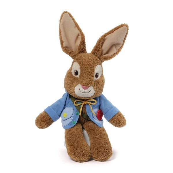 Gund Peter Rabbit 21-inch Teach Me Stuffed Animal
