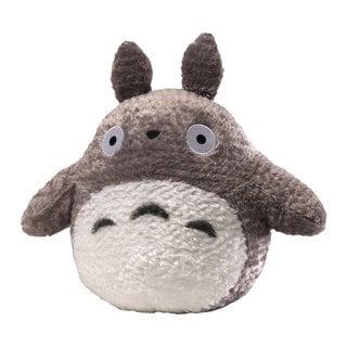 Fluffy 13-inch Grey Totoro Plush