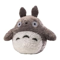 Fluffy 13-inch Grey Totoro Plush