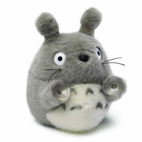 Oh-Totoro Plush Window Cling