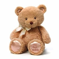 My First Tan 15-inch Teddy Bear Baby