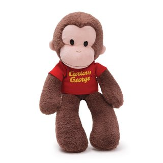 Gund Curious George 15-inch Plush Toy