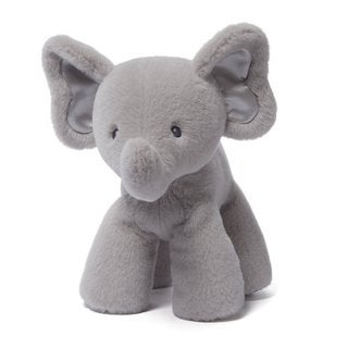 Bubbles Grey 10-inch Elephant