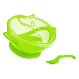 Nuby Easy Go Green Suction Bowl and Spoon