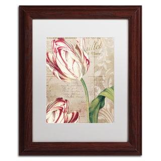Color Bakery 'Tulips' Matted Framed Art