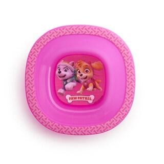 Munchkin Paw Patrol Pink Plastic Girls' Toddler Bowl