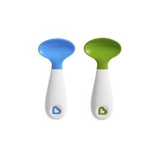 Munchkin Blue and Green Scooper Spoons (Set of 2)
