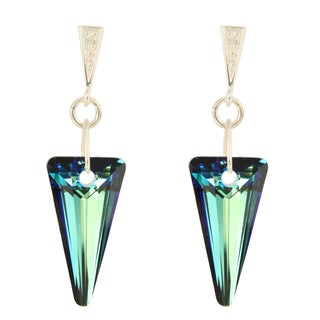 Handmade Astral Glow Crystal Earrings (United States)