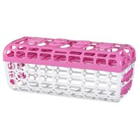 Munchkin Pink High-capacity Dishwasher Basket