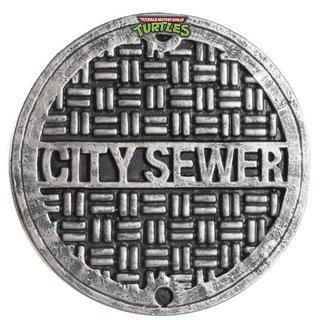 Teenage Mutant Ninja Turtles 12-inch City Sewer Cover Shield