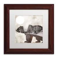 Color Bakery 'Going Wild III' Matted Framed Art - Off-White