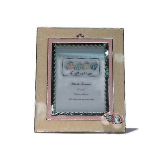 "Elegance Booties 4 x 6"" Photo Frame: Girl"