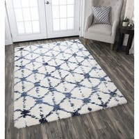 Adana Cream Geometric Area Rug - 5'3 x 7'3