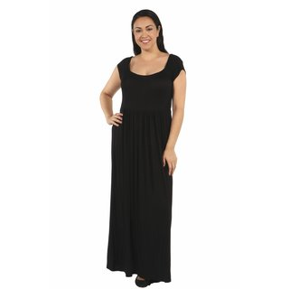 24/7 Comfort Apparel Cool Drink of Water Plus Size Dress