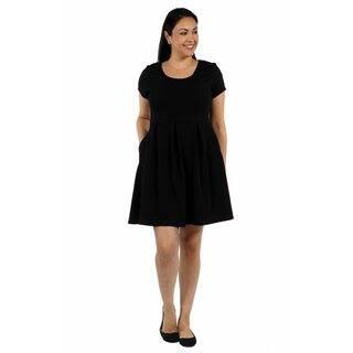 24/7 Comfort Apparel Spring Fling Plus Size Dress|https://ak1.ostkcdn.com/images/products/14743190/P21269919.jpg?impolicy=medium