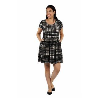 24/7 Comfort Apparel Springtime Belle Plus Size Dress